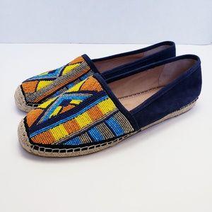 Sam Edelman Maris Beaded Espadrille Shoes 10